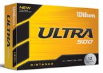 Custom Wilson Ultra 500 Golf Ball - Dozen Box