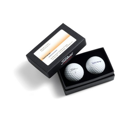 Titleist Tour Soft Golf Ball - 2-Ball Business Card Box