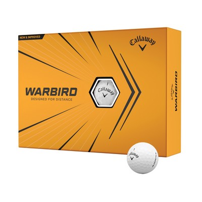Callaway Warbird Golf Ball - Dozen Box