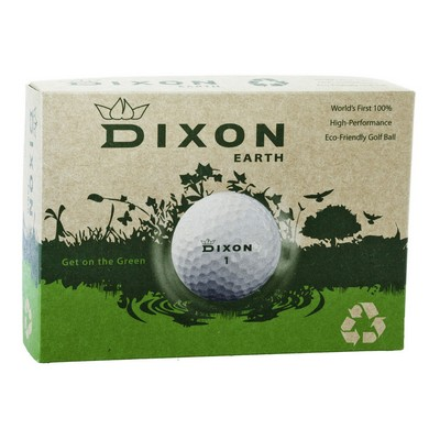 Dixon Earth Golf Ball 100% Eco Friendly (Dozen Box)