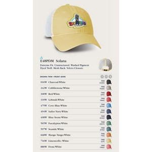 Ahead Pigment Dyed Mesh Golf Cap - Blank