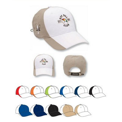 Ahead Textured Poly Golf Cap - Blank