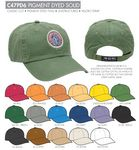 Custom Ahead Unstructured Pigment Dyed Golf Cap - Blank