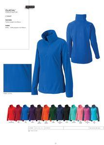 Columbia Womens Glacial Fleece 1/2 Zip Pullover - Blank
