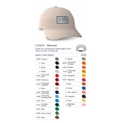 Ahead Lightweight Solid Golf Cap - Blank