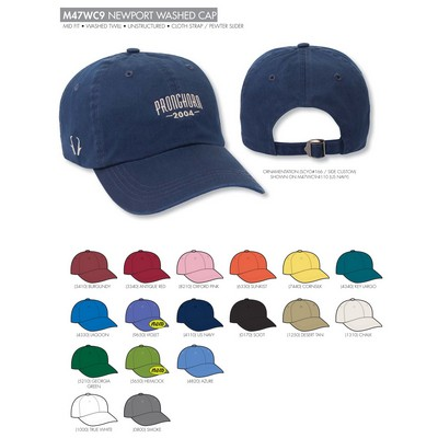 Ahead Newport Washed Golf Cap - Blank