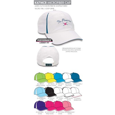 Kate Lord Microfiiber Golf Cap - Blank