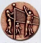 Custom Newport Mint Stock Medal - 1 1/8