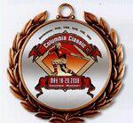 Custom Custom Color Magic Medal /2 3/4