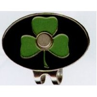 Stock Shamrock Hat Clip
