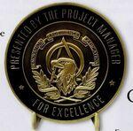 Custom Commemorative Collectible Coins / 1 1/2