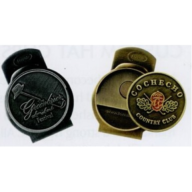 Stock Slider Hat Clip w/ Ball Marker