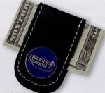 Custom Leather Money Clip w/ Magnet