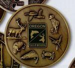 Custom Custom Die Cast Coin / 2 3/4