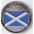 Stock Ball Markers (Scotland/ Flag)