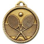 Custom Stock Heritage Line Events Medal Tennis