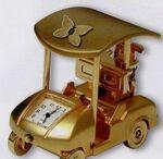 Custom Golf Cart Clock