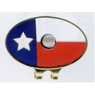 Stock Texas Flag Hat Clip