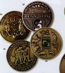 Custom Custom Die Cast Coin /1 3/8