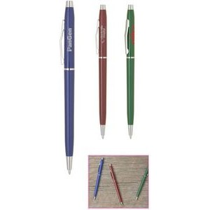 Plantagent-1727 Ballpoint Pen w/Slim Matte Colored Barrel