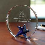 Custom Circle Star Award