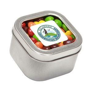 Skittles® in Lg Square Window Tin