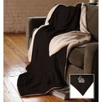 Custom Oversized Micro Mink Sherpa Blanket
