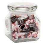 Custom Tootsie Rolls in Small Glass Jar