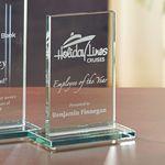 Custom Glass Rectangle - Small Award