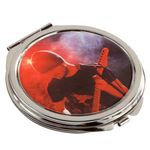 Custom Round Metal Compact Mirror