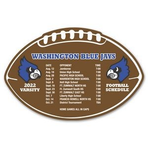 Schedule Football Magnet