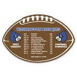 Custom Schedule Football Magnet