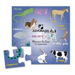 Custom Message Magnet Puzzle Magnet