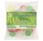 Custom Business Card Magnet w/Large Bag of Lifesavers