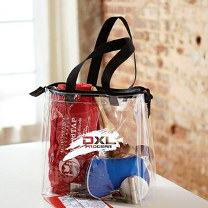 The Pro Stadium Tote W/ Zipper