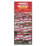 Custom Baseball Schedule Magnet