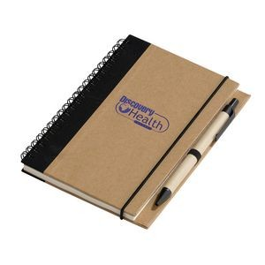 Recycled Notebook with Pen