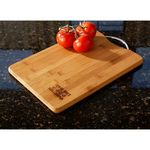 Custom Bamboo Cutting Board with Handle