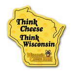Custom Wisconsin State Magnet