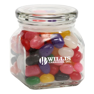 Standard Jelly Beans in Sm Glass Jar