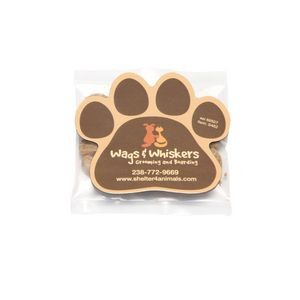 Cat Treats in Bag with Paw Magnet