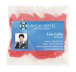 Custom Business Card Magnet w/Large Bag of Swedish Fish