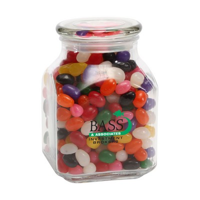 Standard Jelly Beans in Lg Glass Jar