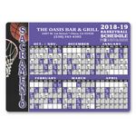 Custom Sports schedule magnet