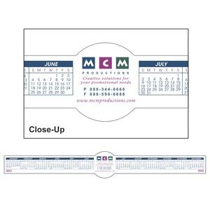 Circle Removable Adhesive Computer Calendar