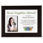 Custom Onyx Small Plaque Award