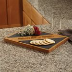 Custom Bamboo and Slate Serving Board