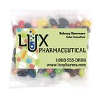 Custom Business Card Magnet w/Large Bag of Jelly Bellys