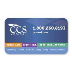Round Corner Business Card Magnet
