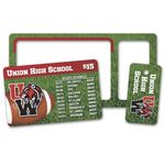 Custom Plastic Wallet / Keytag Card - 30 mil